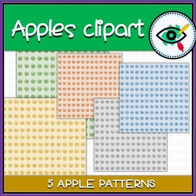 clipart-apples-cards-title4