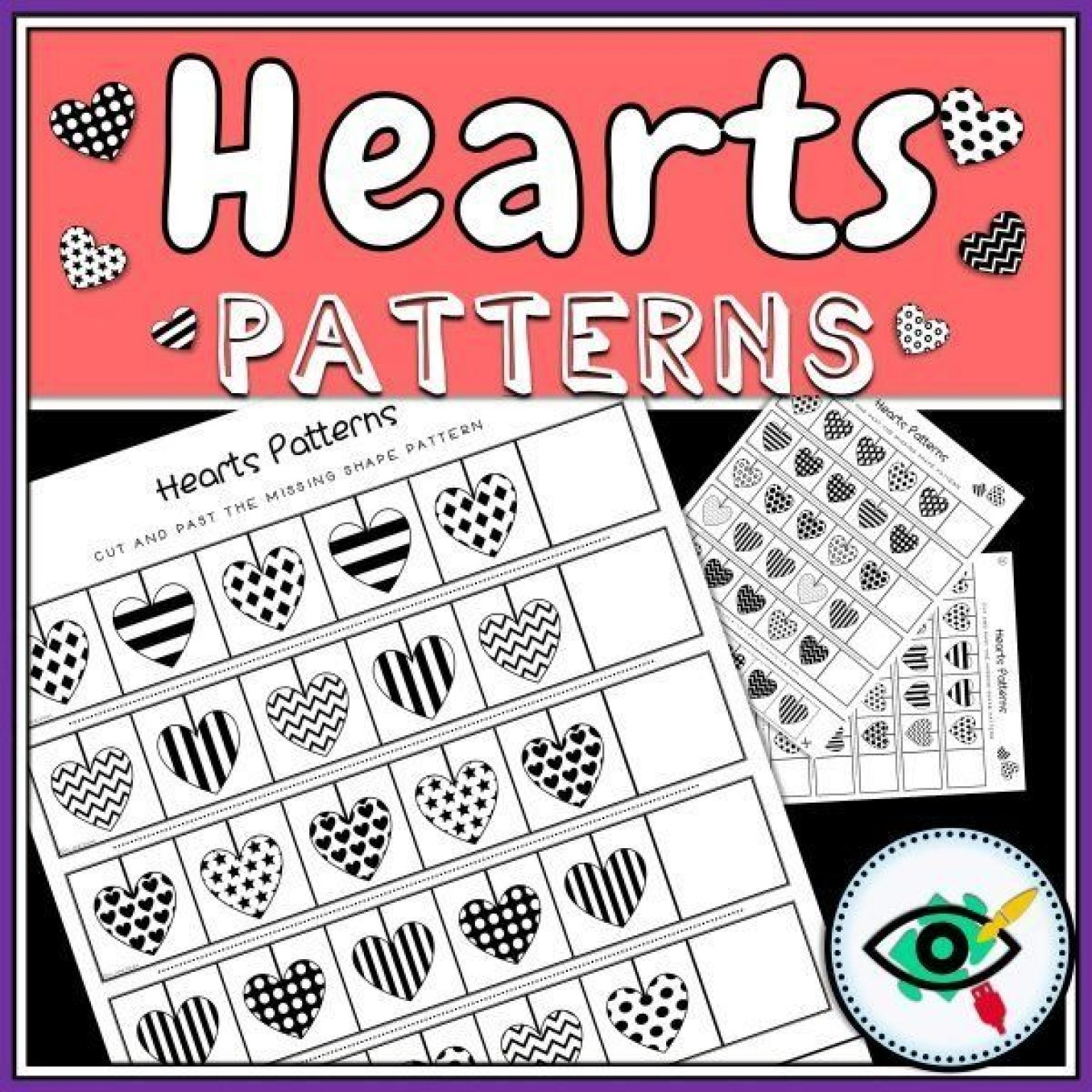 hearts-patterns-title