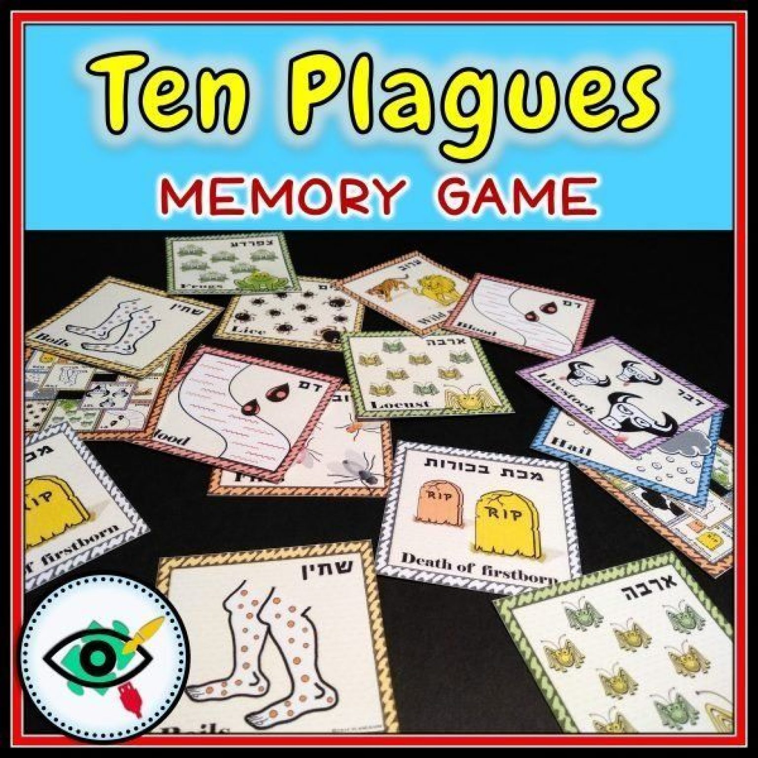 holiday-passover-ten-plagues-memory-game-title3