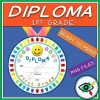 end-of-year-rounded-diploma-first-grade-title1