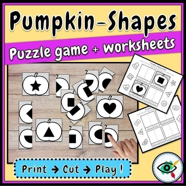 freebie-pumpkin-shape-puzzles-title