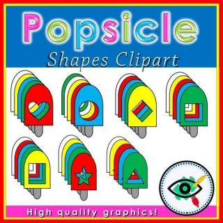 popsicle-shapes -clipart-title