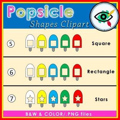 popsicle-shapes -clipart-title2
