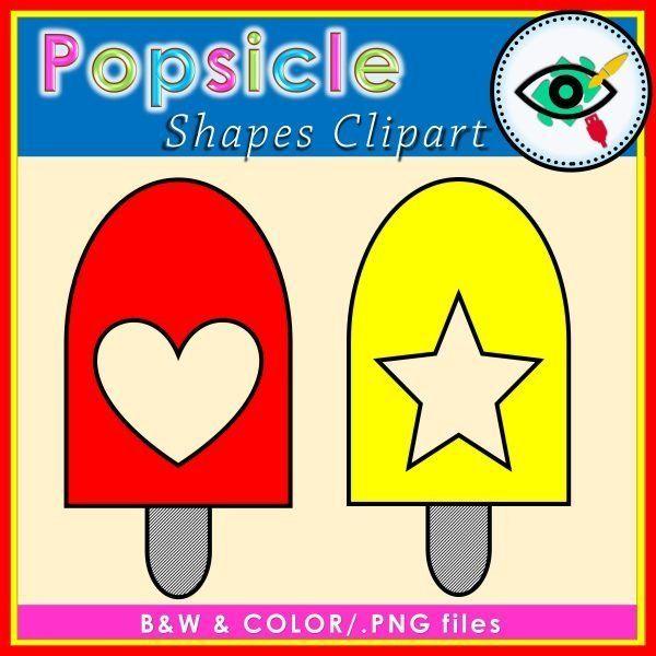 popsicle-shapes -clipart-title3