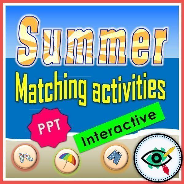 summer-words-matching-interactive-activities-title