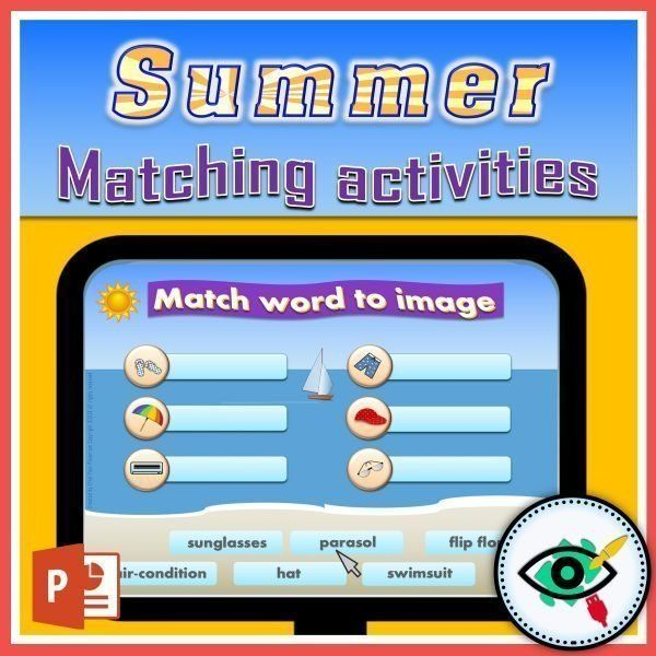 summer-words-matching-interactive-activities-title2