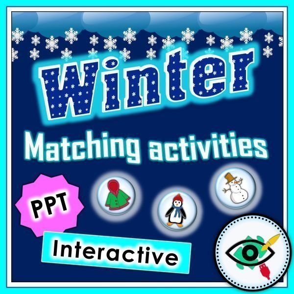 winter-matching-interactive-activity-title