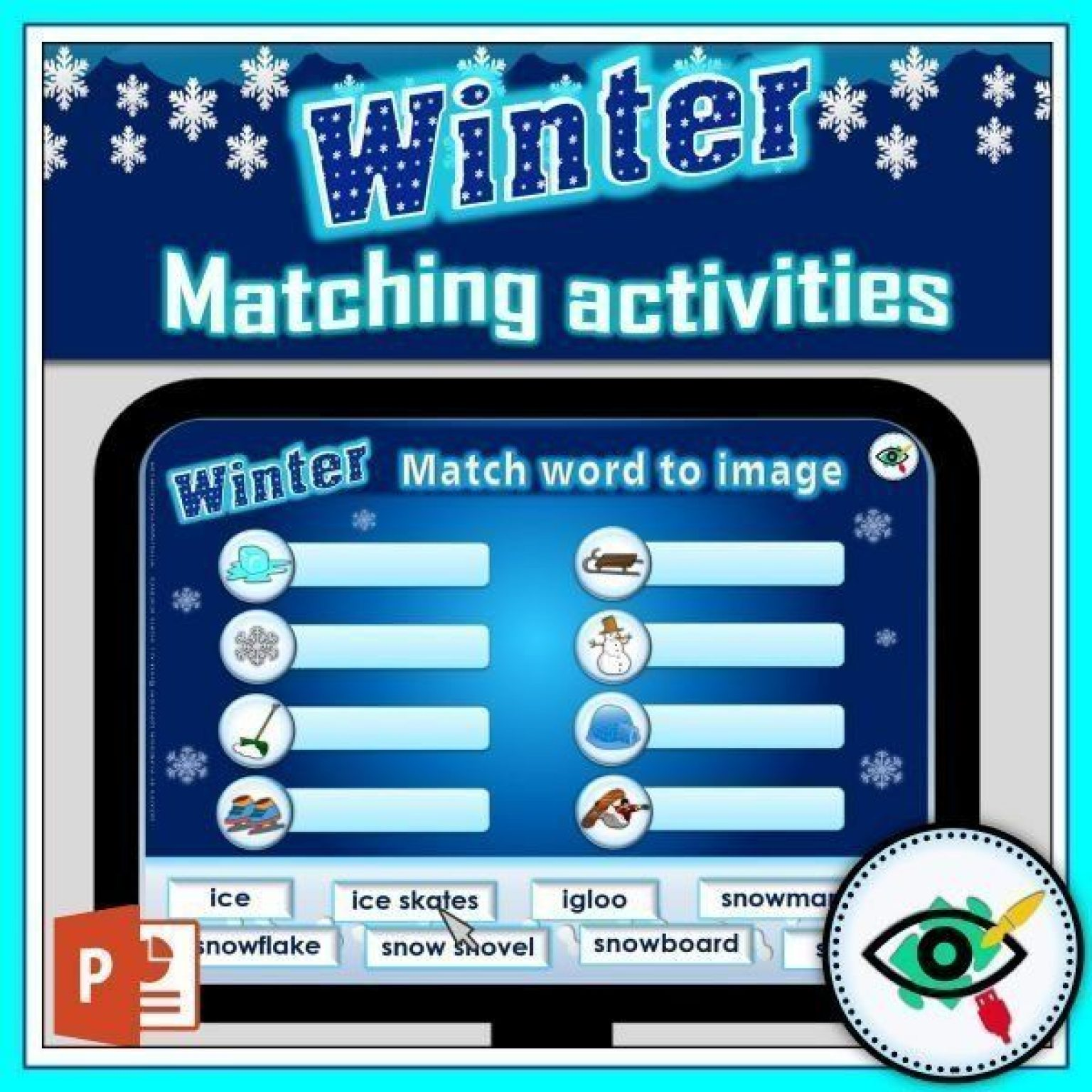 winter-matching-interactive-activity-title2