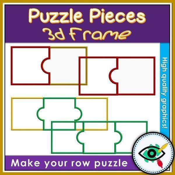clipart-puzzle-pieces-3d-frame-title3