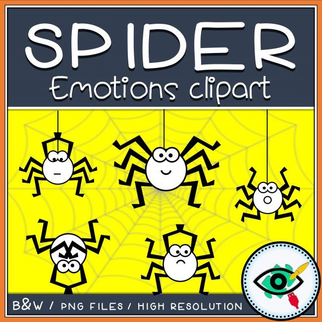 spider-emotions-clipart-title