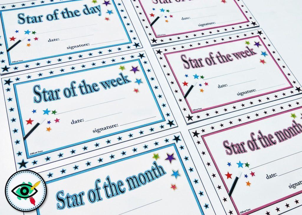 star-of-class-certificates