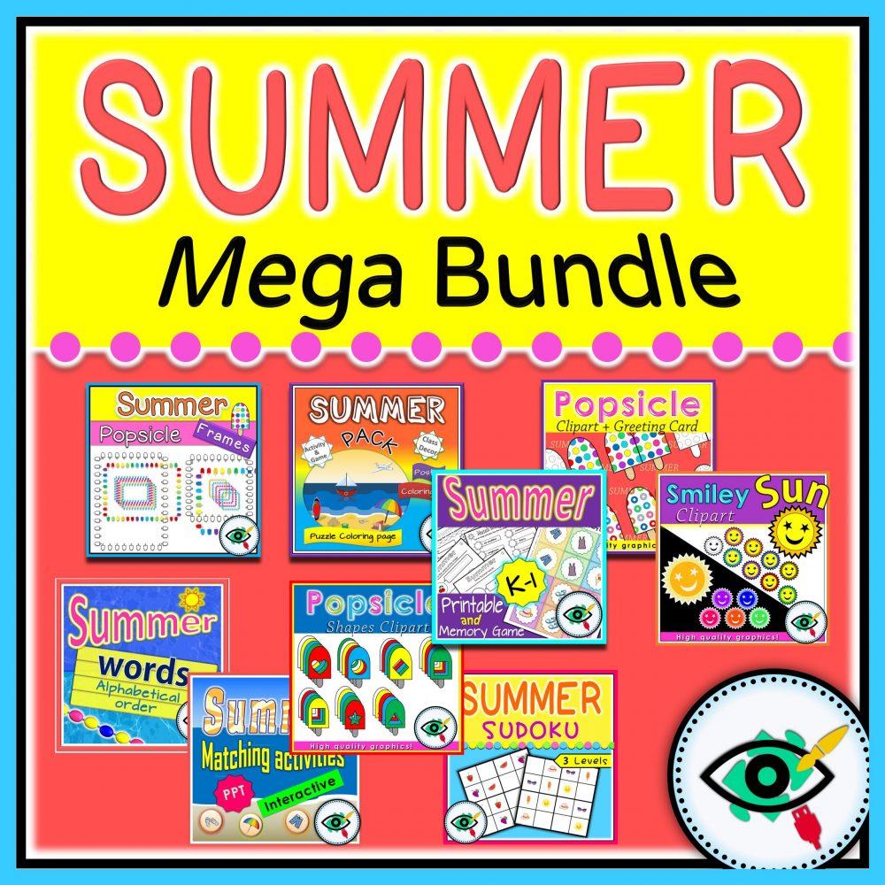 summer mega bundle title