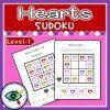 Valentines Day Heart colors Sudoku 1   Planerium