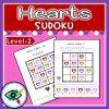 Valentines Day Heart colors Sudoku 2   Planerium