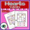 Valentines Day Heart colors Sudoku 3   Planerium