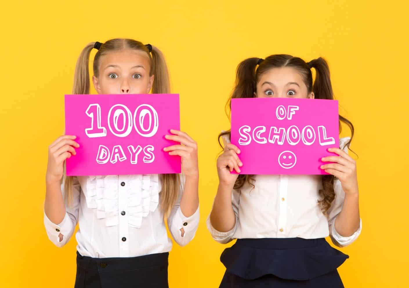 100 Days of School - Coloring Pages and Worksheets | Planerium