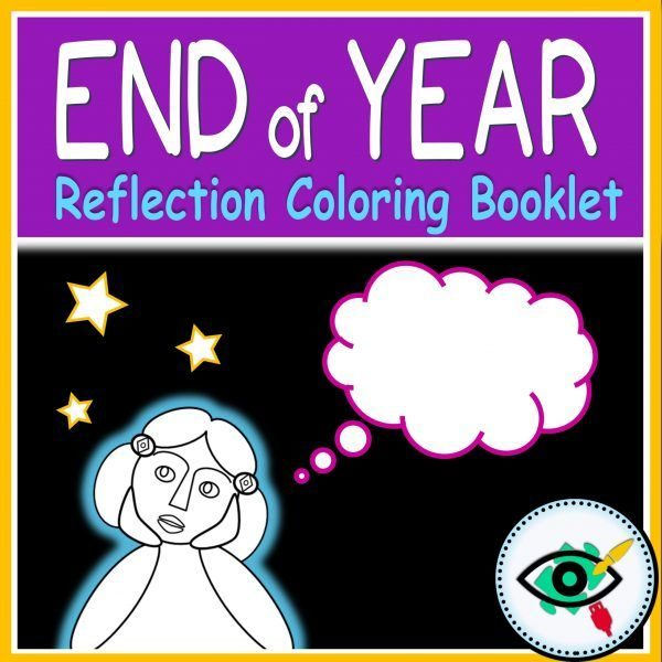 End of year coloring booklet - Product title | Planerium