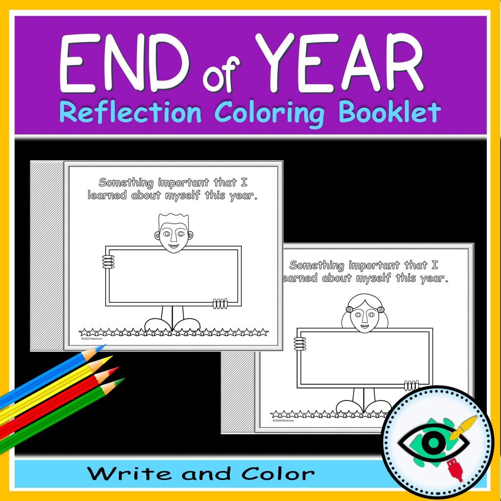 End of year coloring booklet - Product title 2 | Planerium