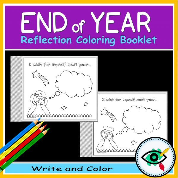 End of year coloring booklet - Product title 4 | Planerium