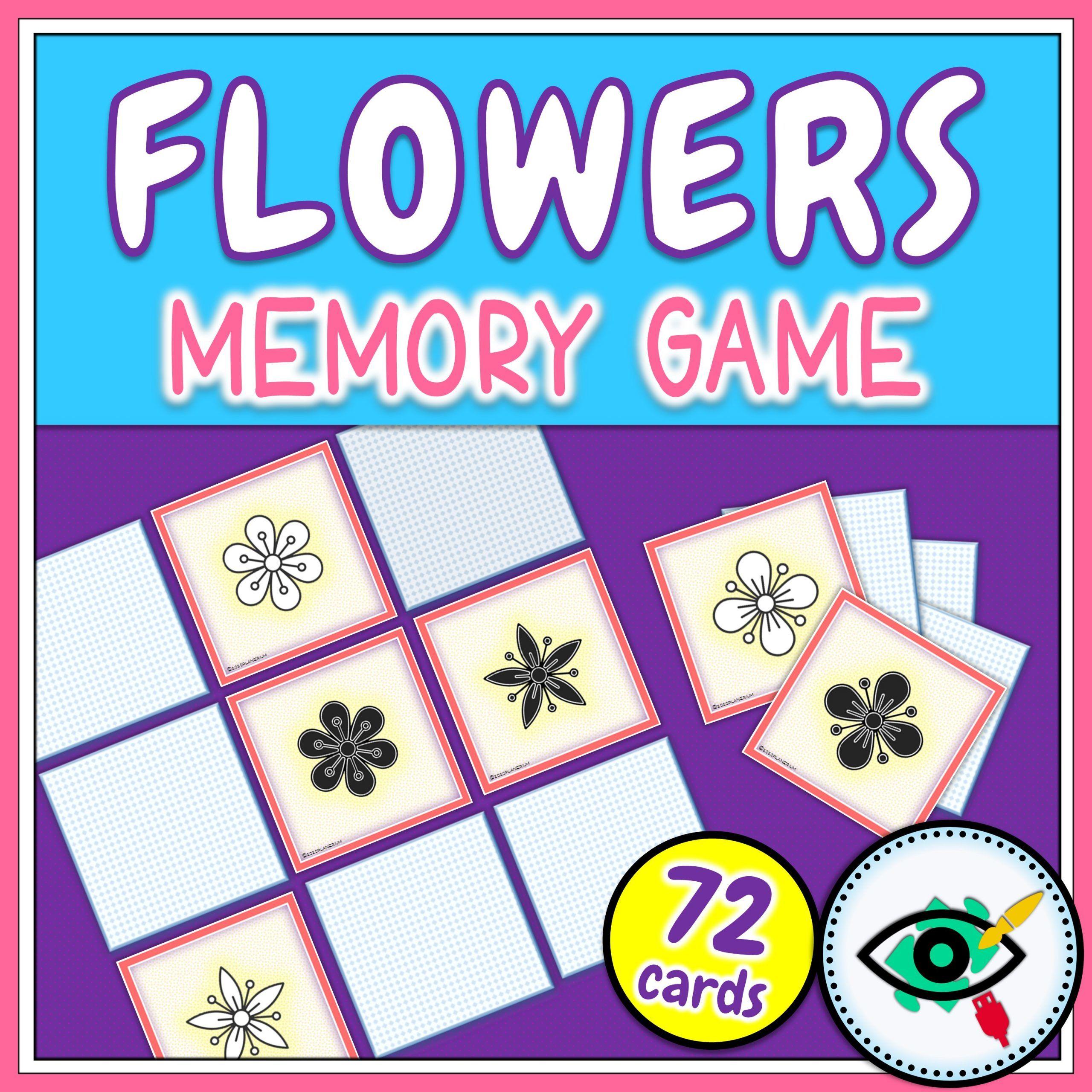 Spring -Spring - Memory Game - Flowers - Planerium