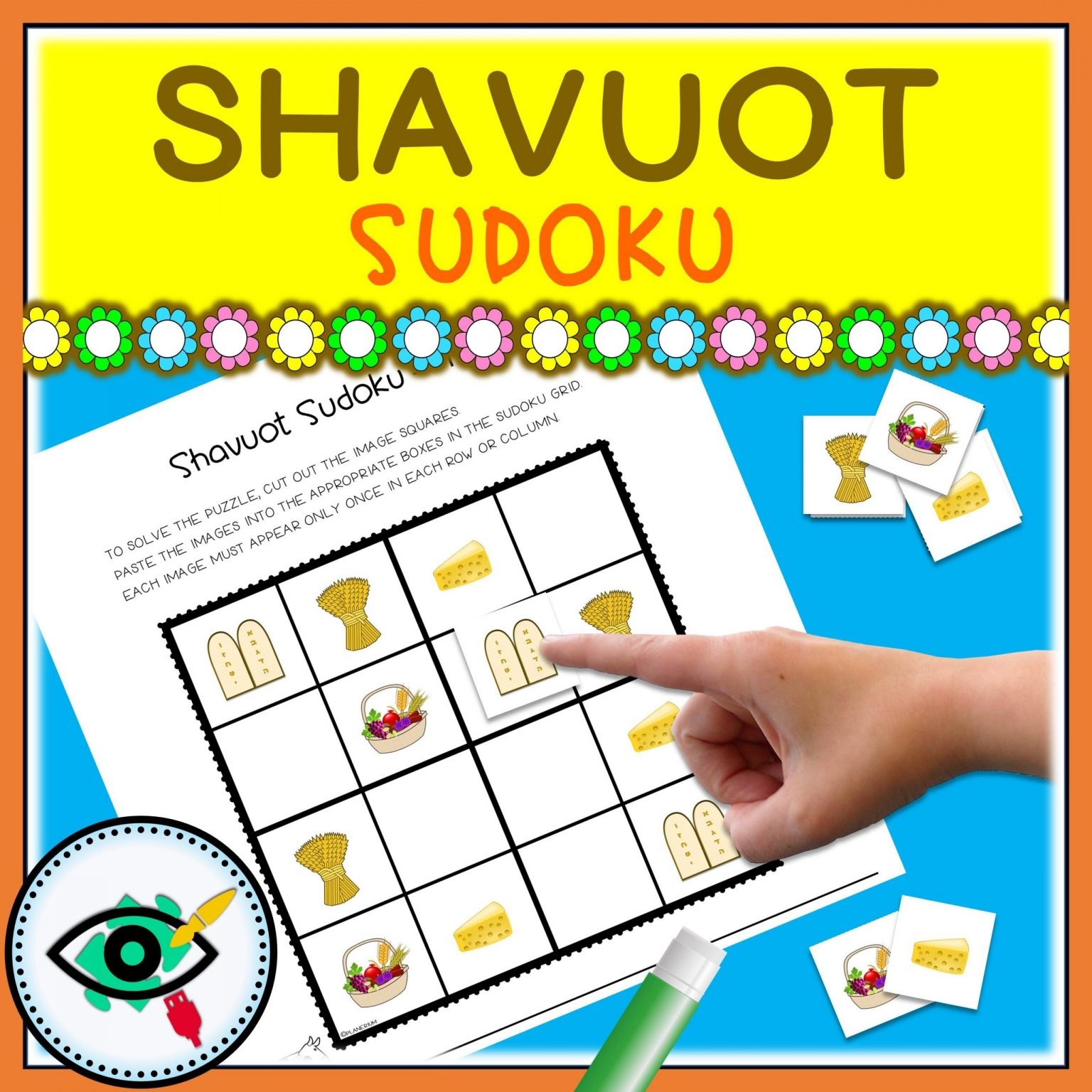 Shavuot - Sudoku Puzzle Game - Title 5