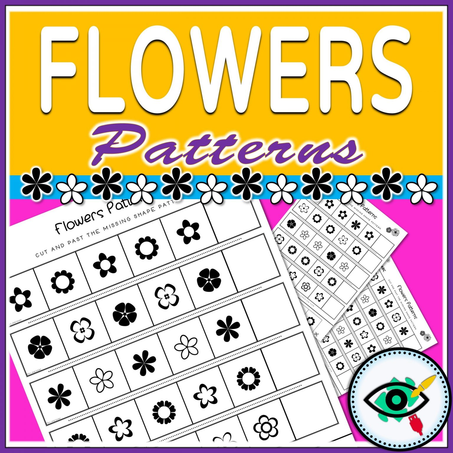 Spring - Patterns Game - Flowers | Planerium