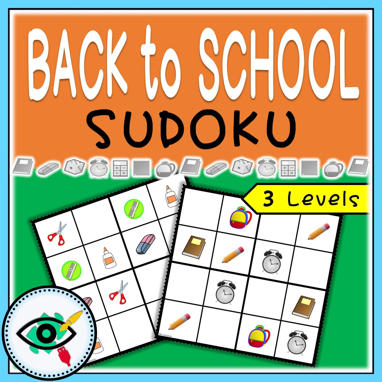 Back to School - Sudoku   Planerium