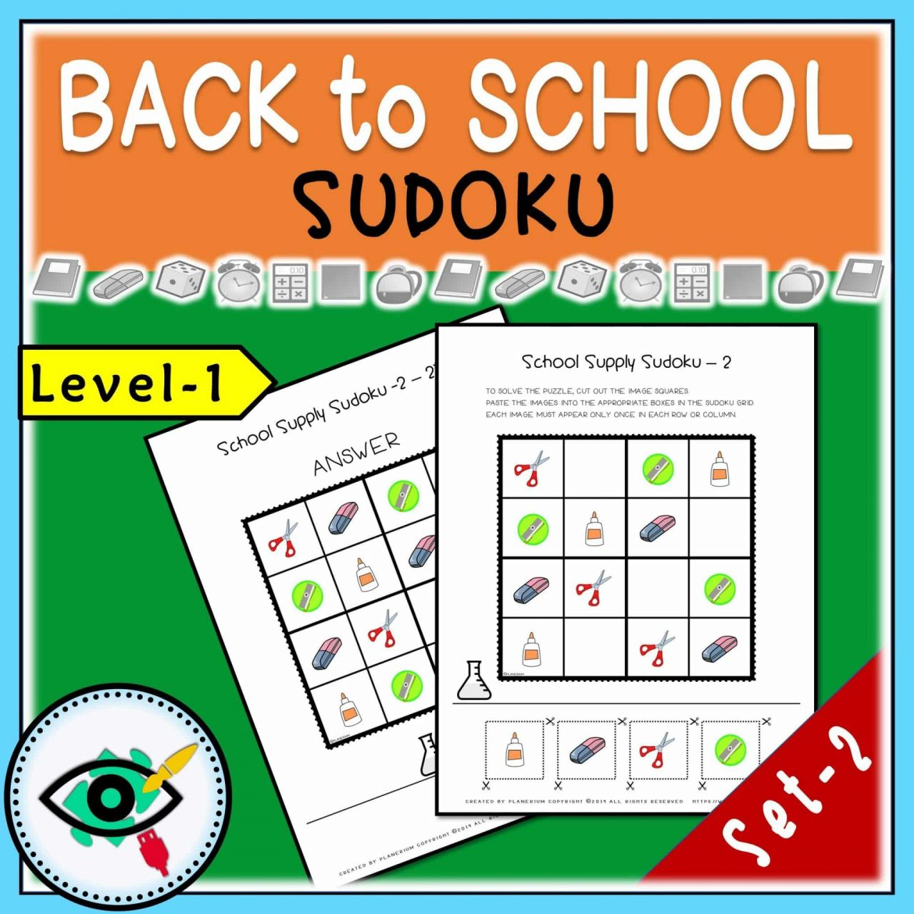 Back to School - Sudoku - Title 4 | Planerium