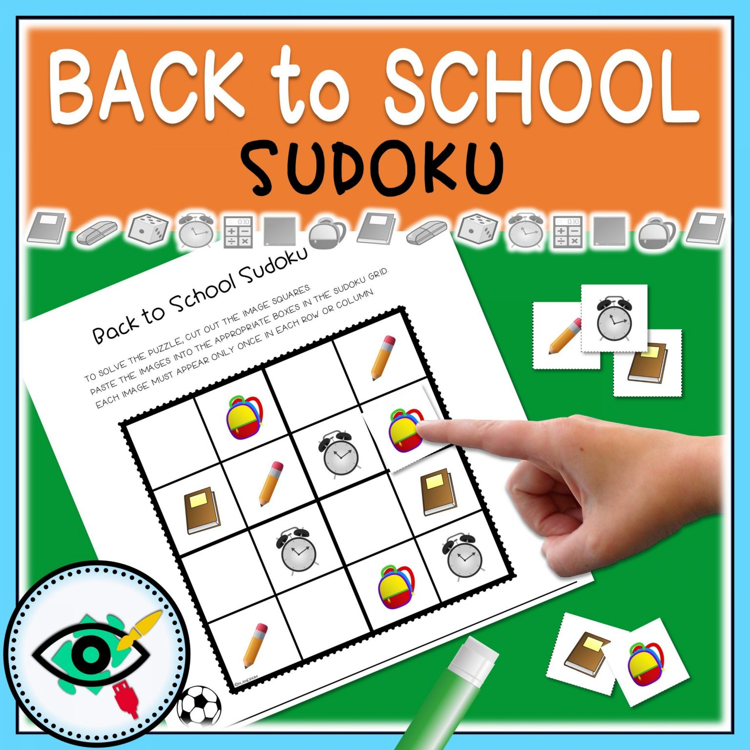 Back to School - Sudoku - Title 5   Planerium