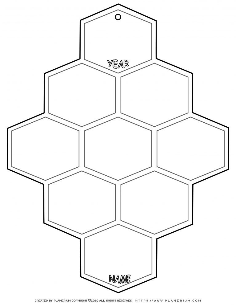 End of Year - Worksheet - Review Hive