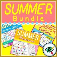 Summer - Logical Thinking Activities - Bundle