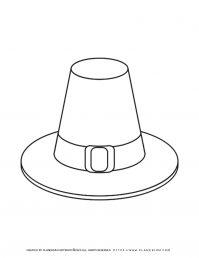 Pilgrim Hat - Coloring Page   Planerium