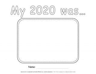 Self Reflection 2020 - Worksheet - About My Year | Planerium