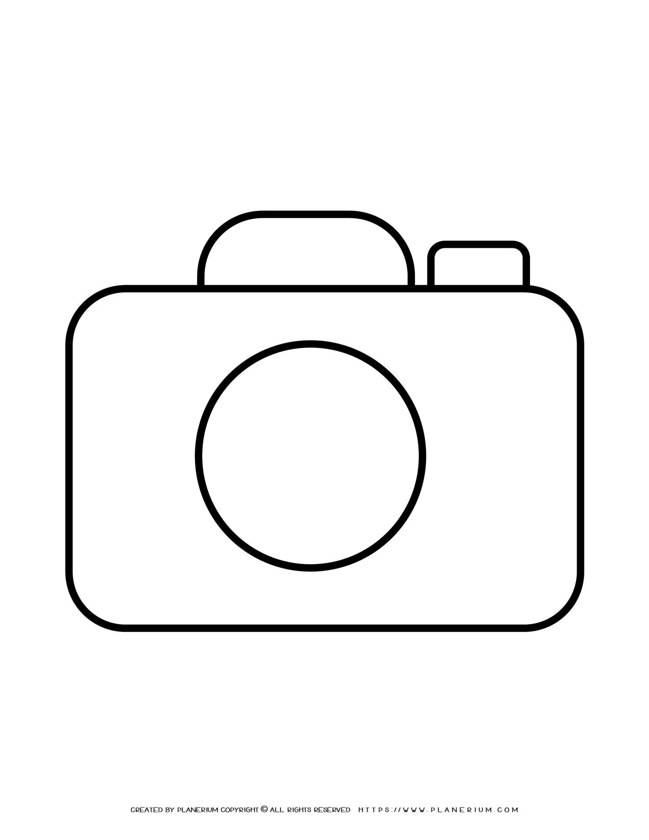 Camera Outline | Planerium