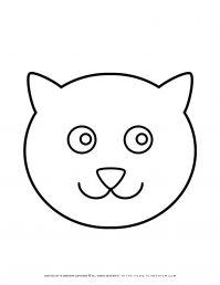 Cat Face Outline | Planerium