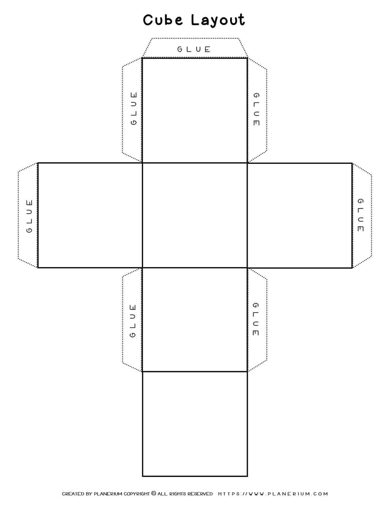 Cube Template | Planerium