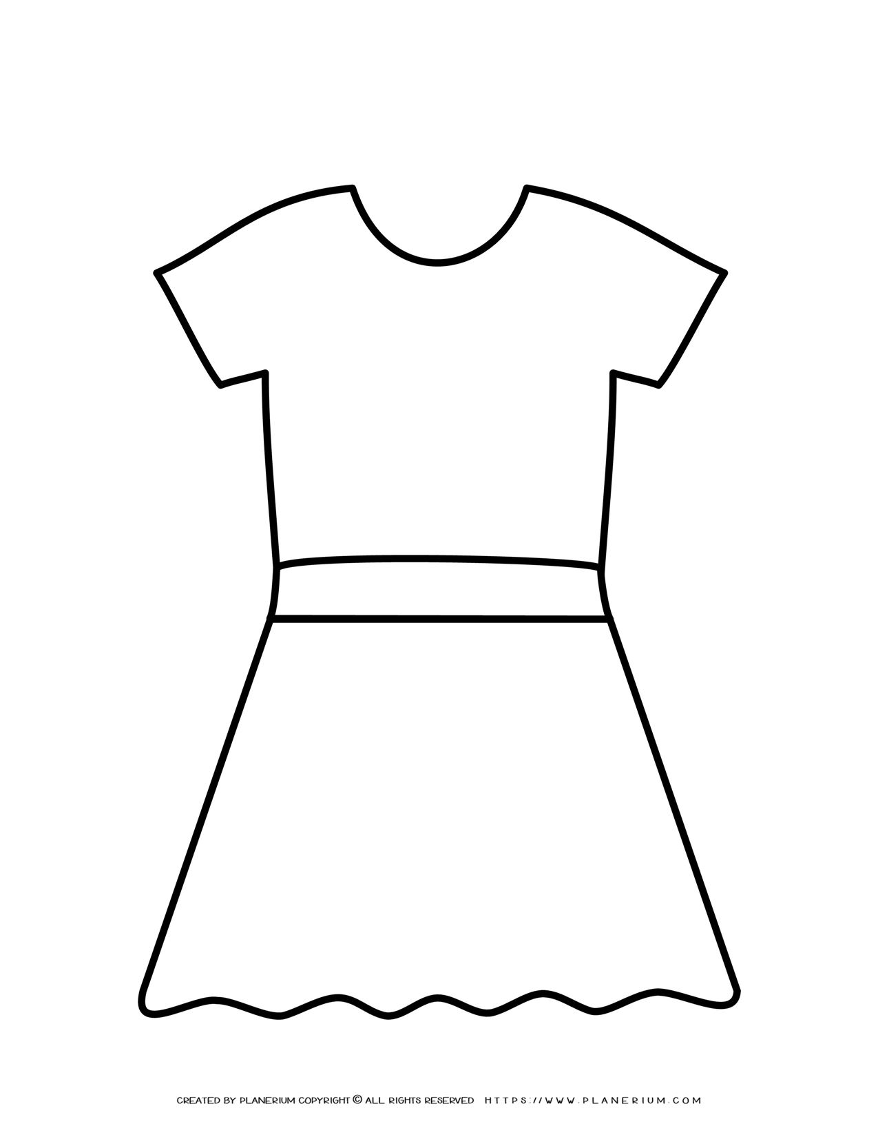 Dress Outline | Planerium