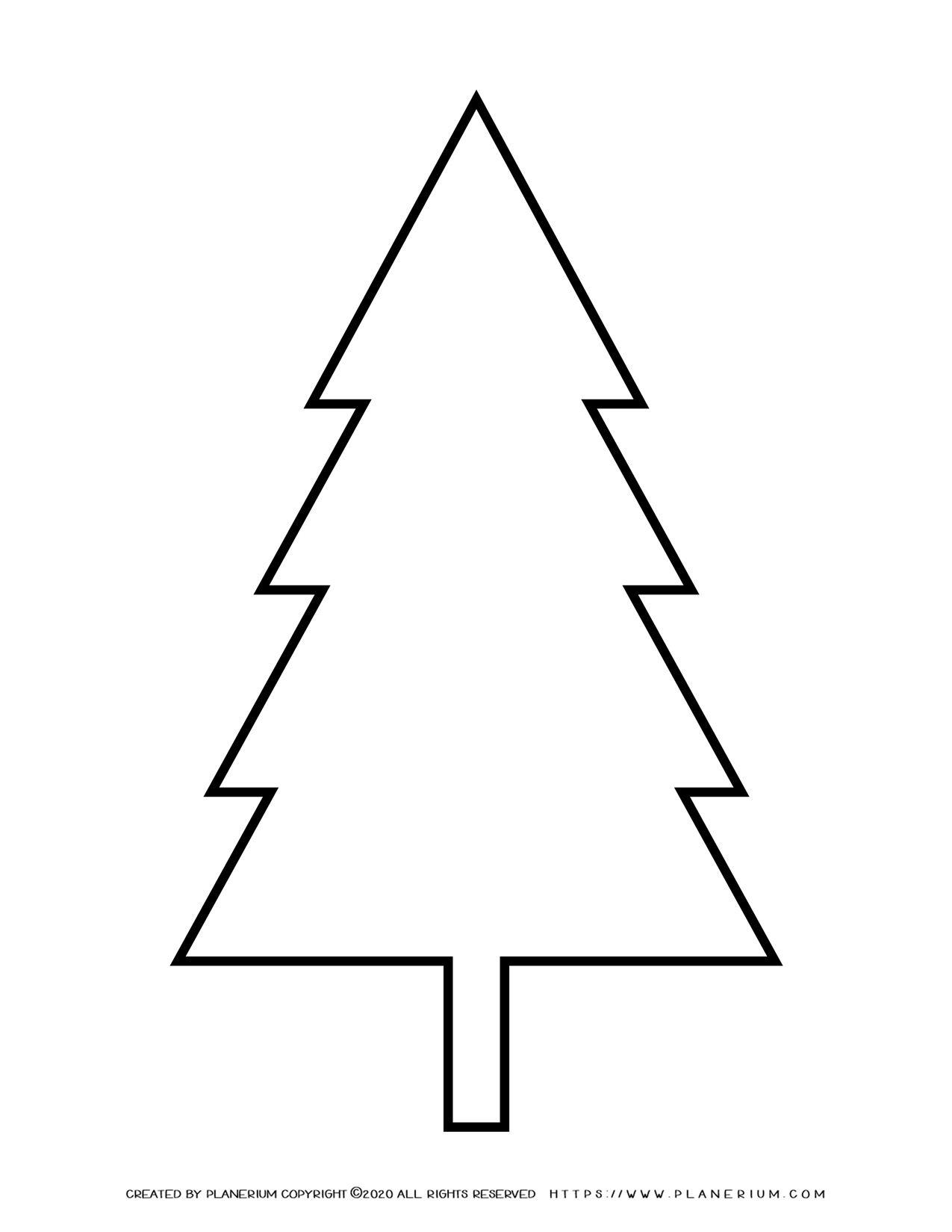 Pine Tree Outline | Planerium