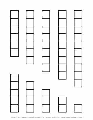 Printable Cuisenaire Rods 1-10 | Planerium