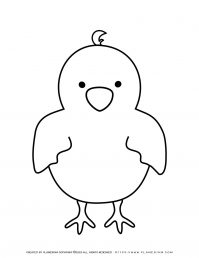 Baby Chick - Coloring Pages | Planerium