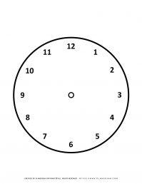 Clock Outline | Planerium