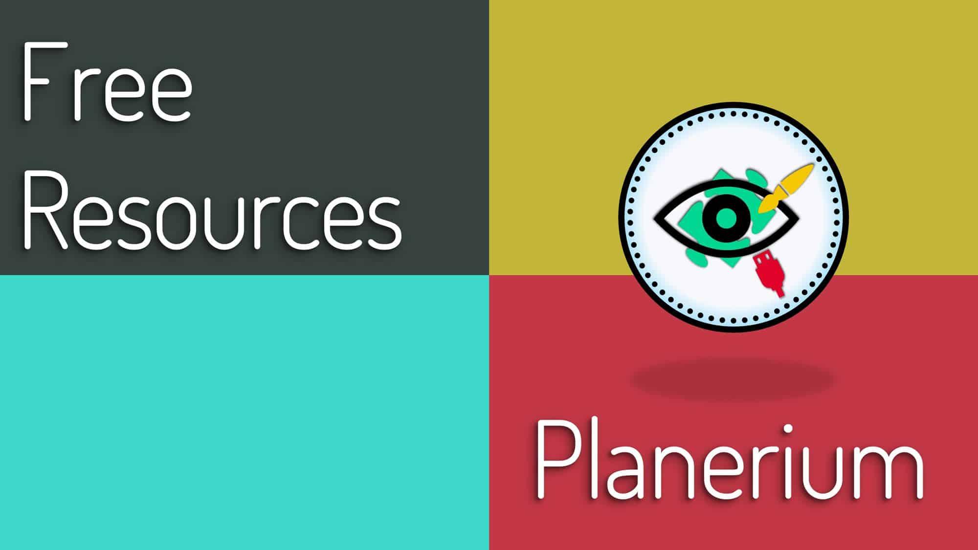 Free Resources - Featured   Planerium
