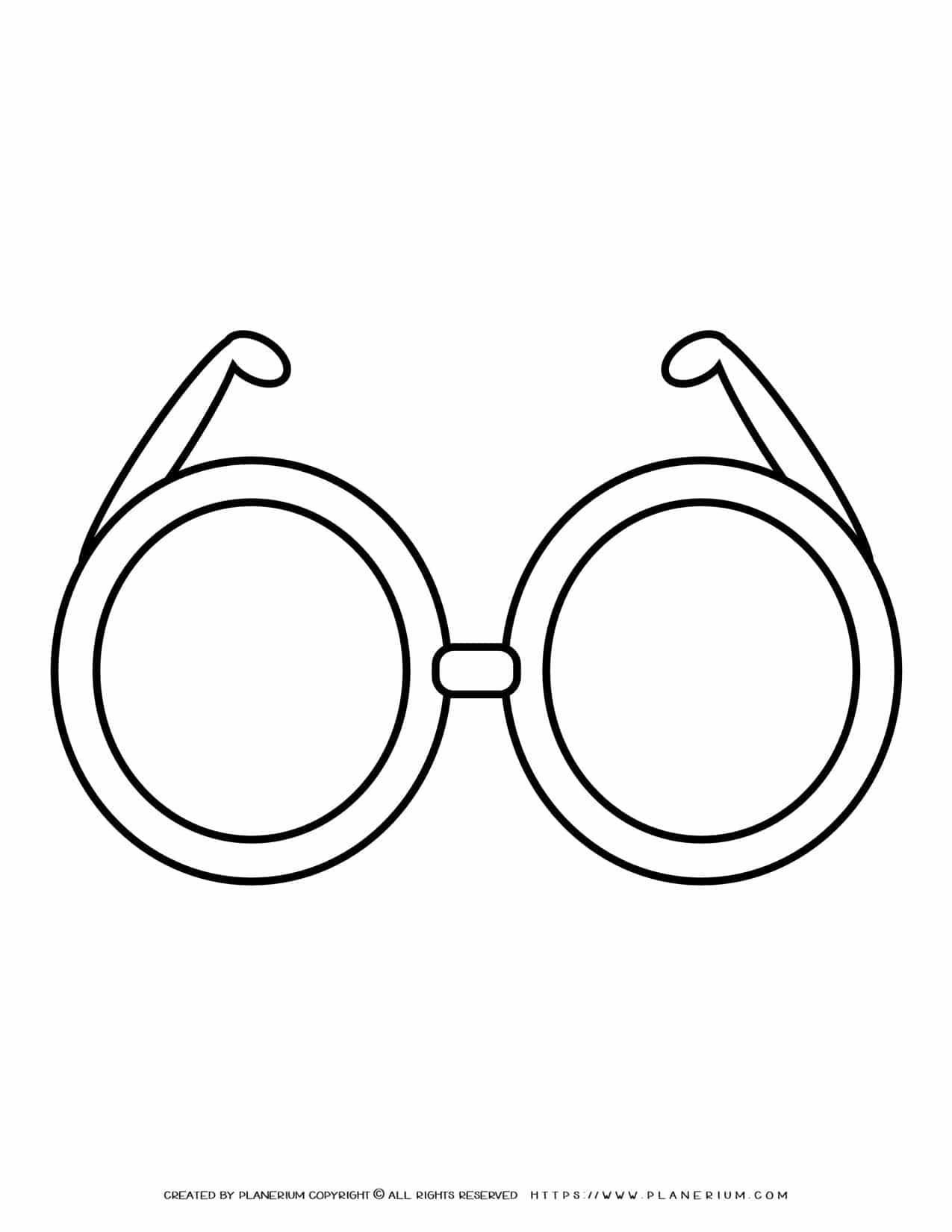 Glasses Outline | Planerium