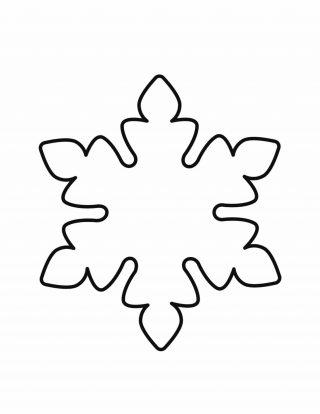 Snowflake-Outline | Planerium