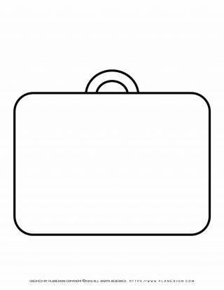 Suitcase Outline | Planerium