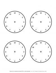 Templates - Four Clocks | Planerium