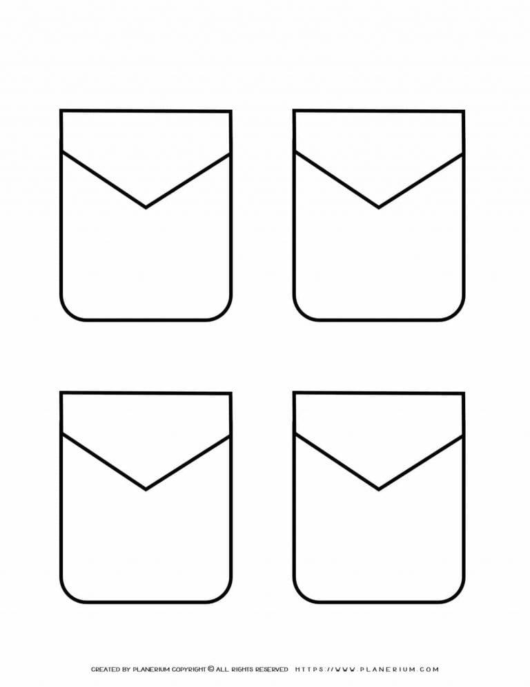 Templates - Four Pockets | Planerium