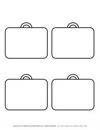 Templates - Four Suitcases | Planerium