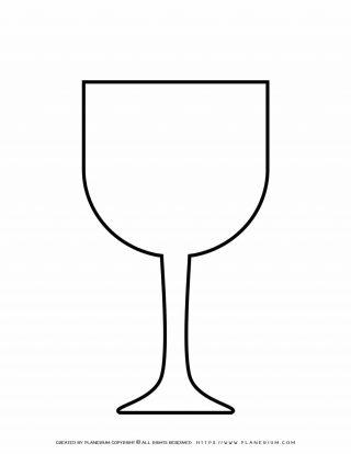 Wine Glass Template | Planerium
