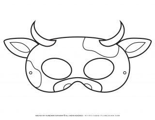 Animal Masks - Cow Eye Mask   Planerium